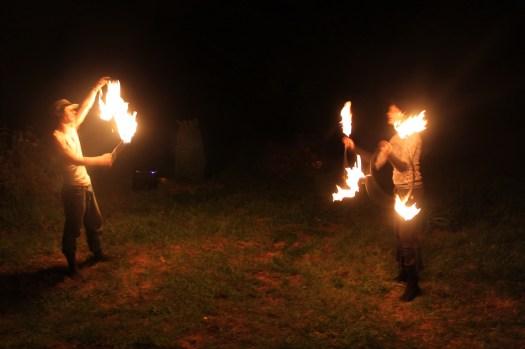 Flicker and Twisty Gypsy Spinning Fire