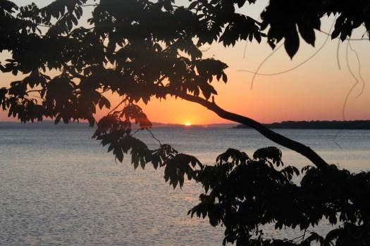 Sunset on Ometepe, Nicaragua 2014