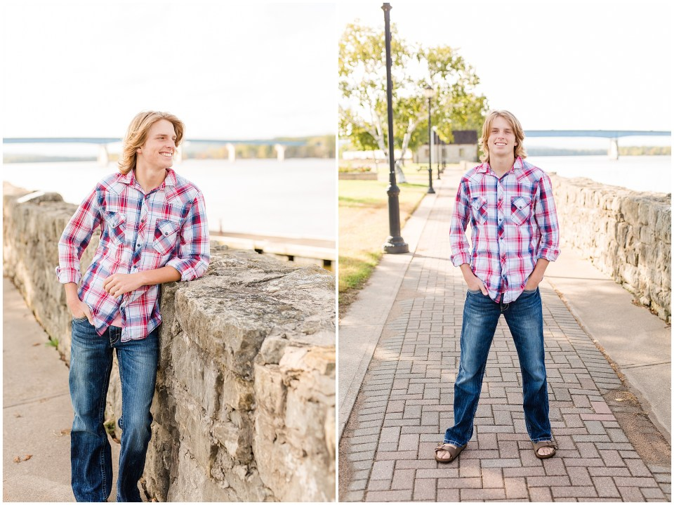Iowa City Photographers - MISSISSIPPI RIVER SENIOR SESSION -Megan Snitker Photography_0014.jpg