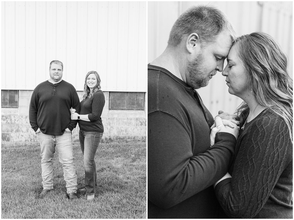 Iowa City Wedding Photographers - Rural Iowa Engagement Session-Megan Snitker Photography_0027.jpg