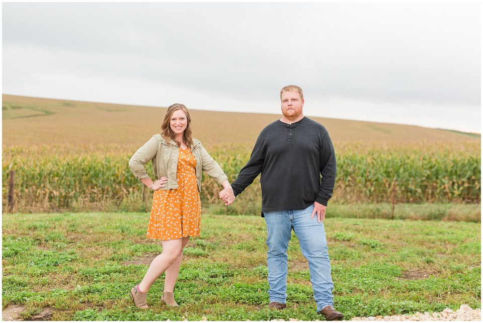 Iowa City Wedding Photographers - Rural Iowa Engagement Session-Megan Snitker Photography_0036.jpg