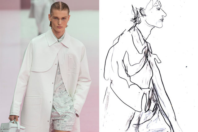 Recent work | Esquire Singapore | Paris Fashion Week Men's SS20 as seen through the eyes of a fashion illustrator