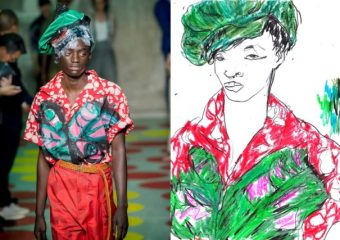 Recent Work | Esquire Singapore | Milan Fashion Week Men's SS20 as seen through the eyes of a fashion illustrator