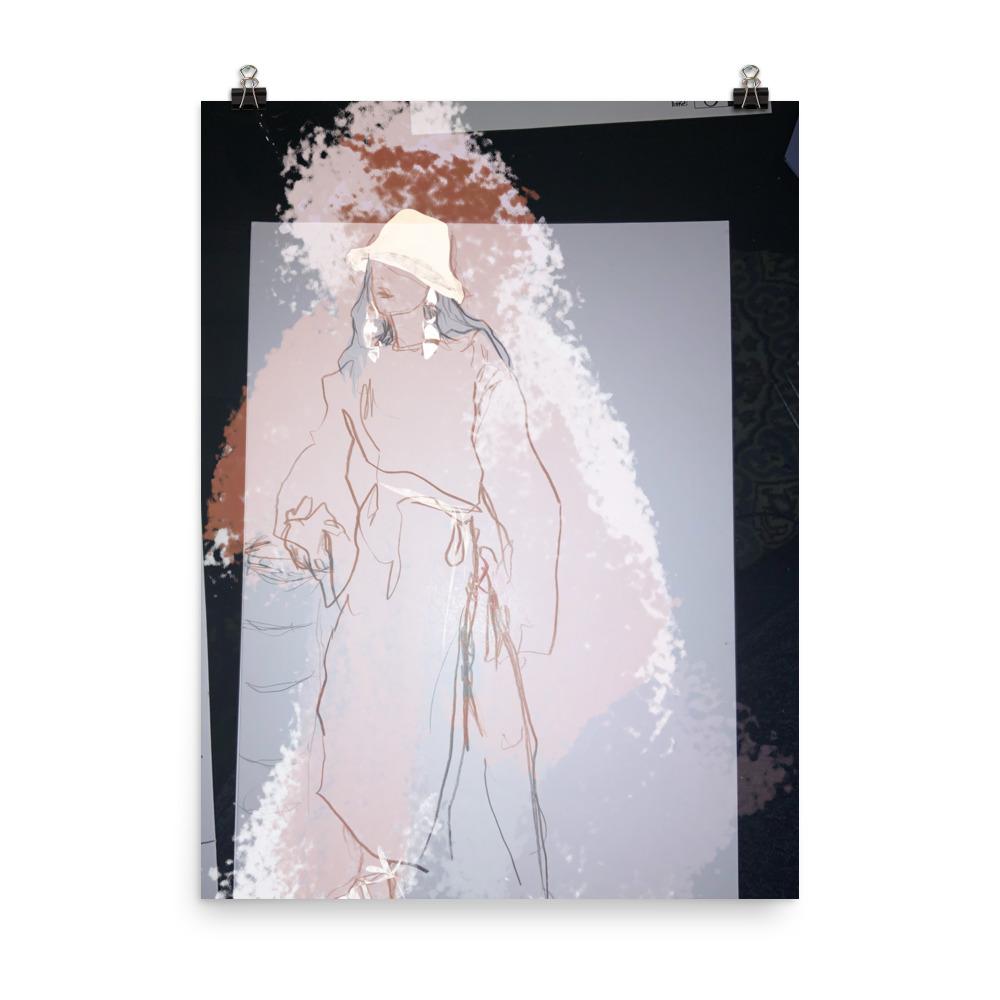 Nanushka SS20 art print for interiors