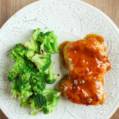 Apricot Chicken Thighs