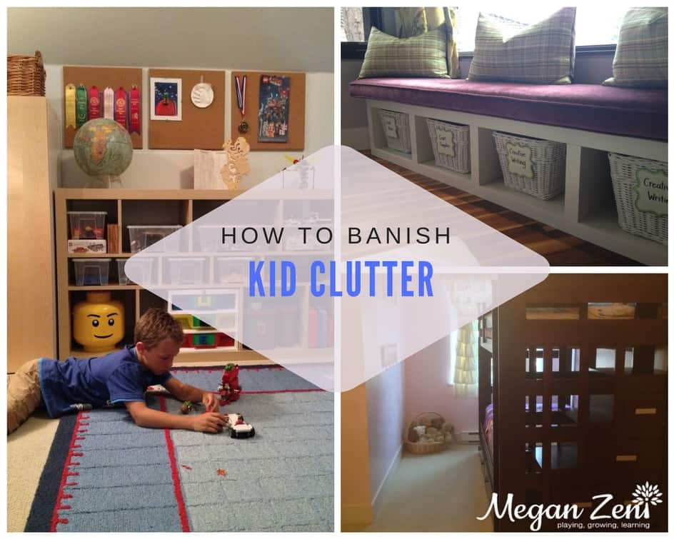 Kid clutter is visual noise