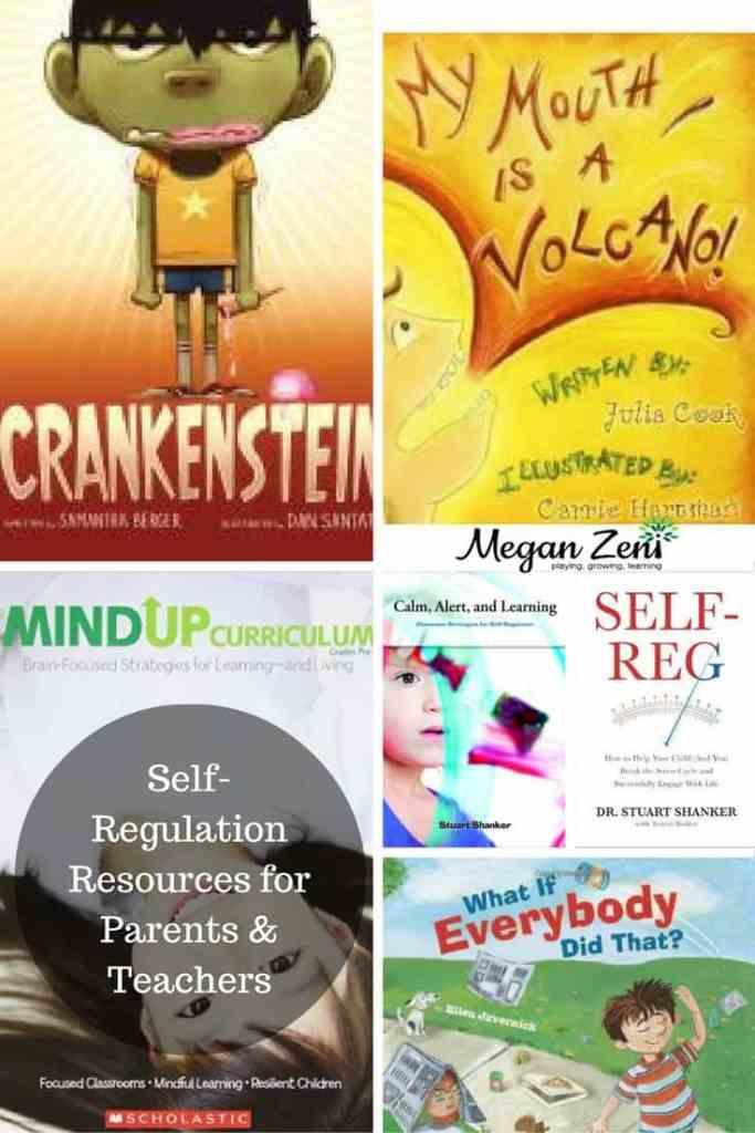 Self-Regulation Resources for Parents & Teachers