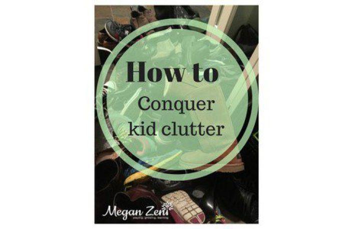 How to declutter kids clutter