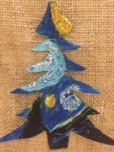 Vincent van Gogh's starry night for kids