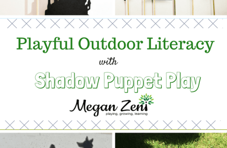 Playful Literacy and Shadow Puppets