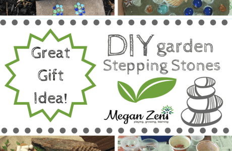 How to Make Garden Stepping Stones With Kids