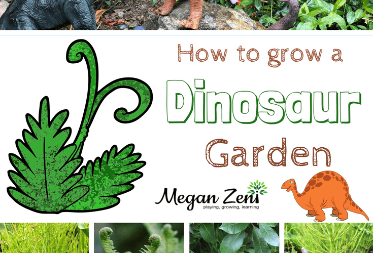 How To Build A Dinosaur Garden
