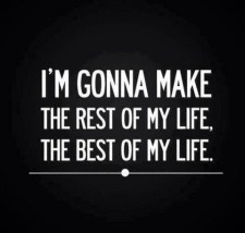 Make the rest of my life the best of my life. {Megaphone Society} #amwriting #inspiration