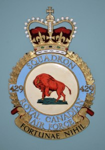 RCAF Squadron 429 Fortunae Nihil