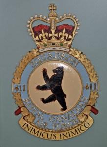 RCAF Squadron 411 Inimicus Inimico