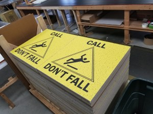call don t fall ceiling tiles