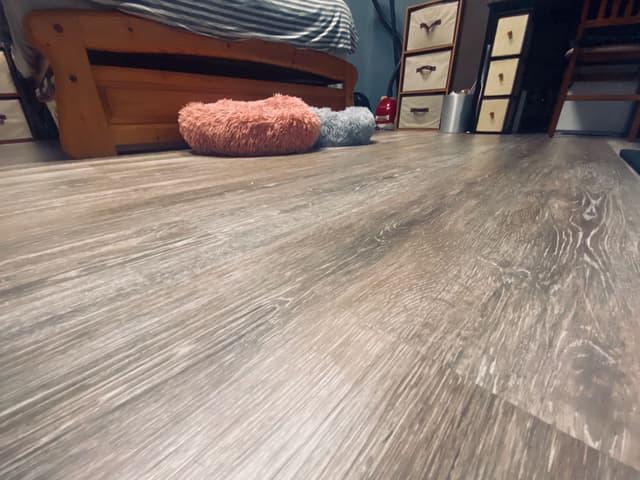 #圖 媲美木地板的DIY輕改造 - 居家生活板   Dcard