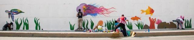 Promueve Municipio Valores a Través de Murales Urbano