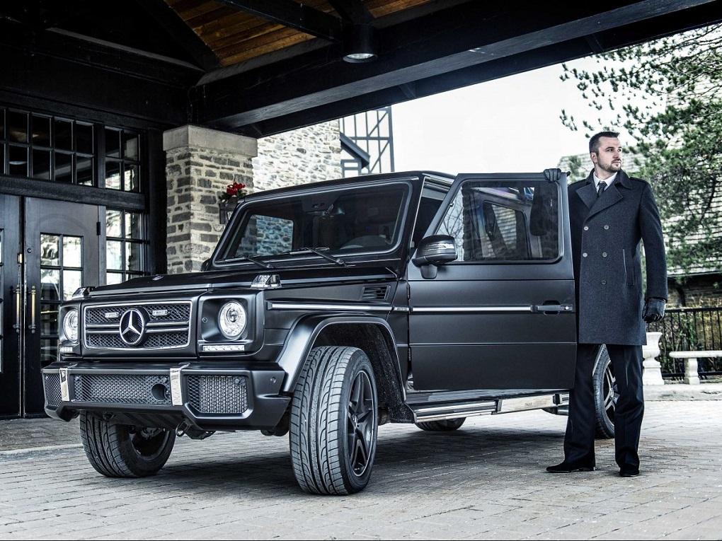 INKAS Mercedes G63 AMG - Un Todoterreno Blindado De $1 Millón