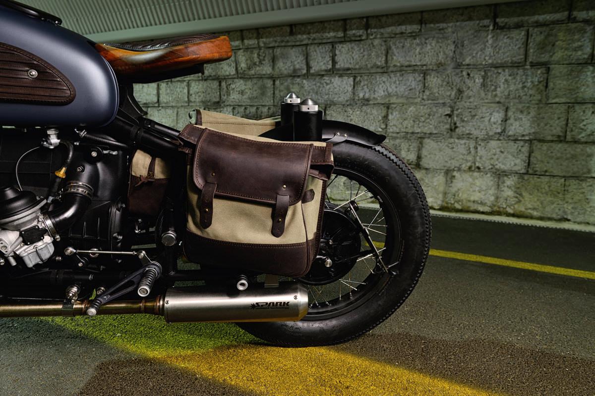 "Motocicleta Personalizada: BMW R69S ""Thompson"""