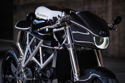 "Apogee Motorworks Presenta La Mejorada Motocicleta ""Ducati 848"""