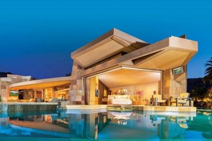 Espectacular mansión en California a la venta por $16 millones – Fue el último hogar del productor de Hollywood Jerry Weintraub
