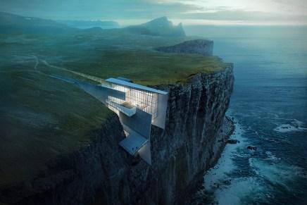 Vive al límite en este impresionante refugio de lujo en un acantilado en Islandia