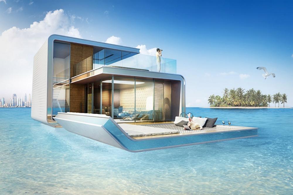 Dubái Se Alista Para Hacer Entrega De Las Primeras Villas Flotantes Con Habitaciones Bajo El Mar A Sus Dueños
