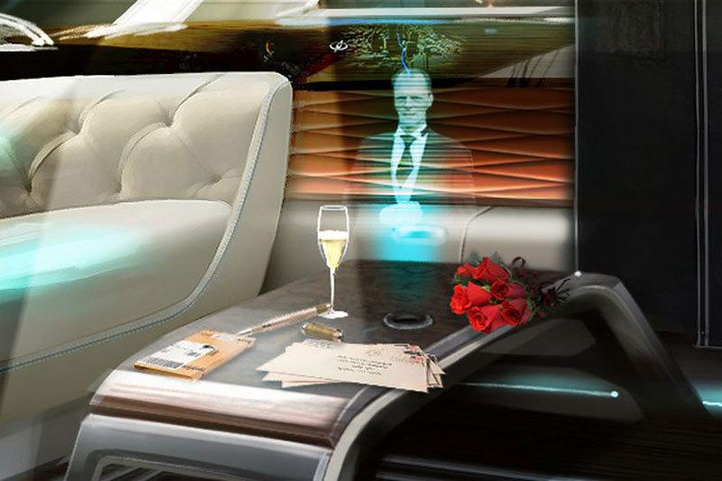 Los Coches Bentley Del Futuro Podrían Contar Con Un Mayordomo Holográfico