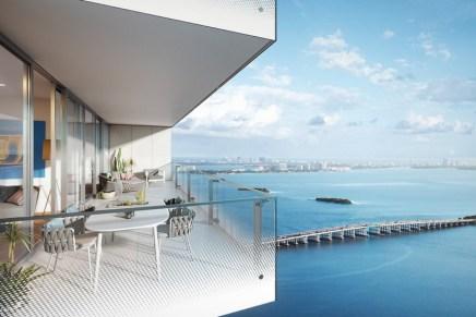 """La impresionante torre residencial de lujo """"Missoni Baia"""" brillará con todo su esplendor en la ciudad de Miami"""