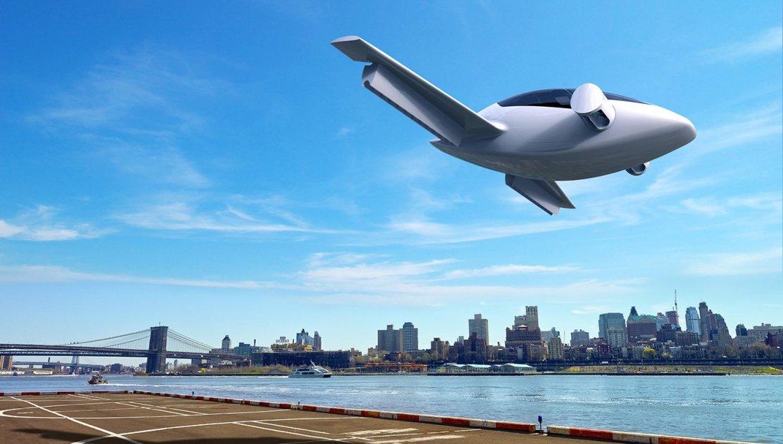Este futurista jet 100% eléctrico despegará y aterrizará de forma vertical y también podrá ser conducido como un coche