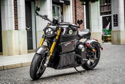 SORA: Una potente motocicleta eléctrica por Lito Green Motion