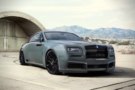 """SPOFEC presenta esta increíble versión """"Overdose"""" del Rolls-Royce Wraith"""