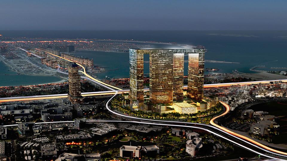 Dubai Pearl, Dubái