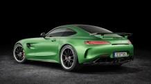 Mercedes AMG GT R: Esta Increíble Bestia Verde Fue Construida También Para Las Pistas