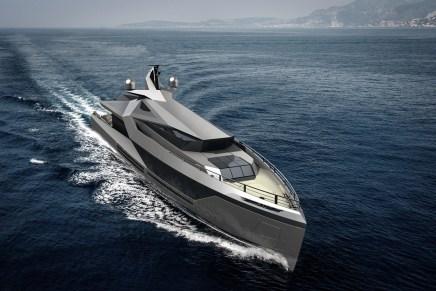 Stella: Un mega yate de 50 metros, el nuevo concepto de Red Yacht Design