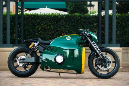 LOTUS C-01 2014: Esta Increíble Motocicleta Será Subastada