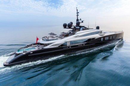 OKTO: Un hermoso y moderno mega yate por ISA Yachts
