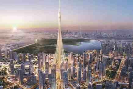Comienza en la opulenta Dubái la construcción del rascacielos ¡Más Alto Del Mundo!