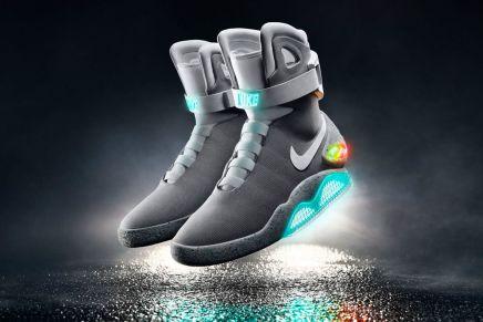 """¡El futuro está aquí! Nike crea las zapatillas de la película """"Regreso al Futuro"""" y serán subastadas para luchar contra el Parkinson"""