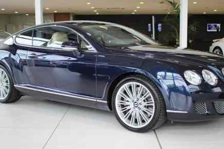 Exclusivo Ex-Bentley Continental W12 GT Speed de Cristiano Ronaldo será subastado