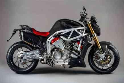 Espectacular motocicleta Midalu 2500 V6 de Moto FGR