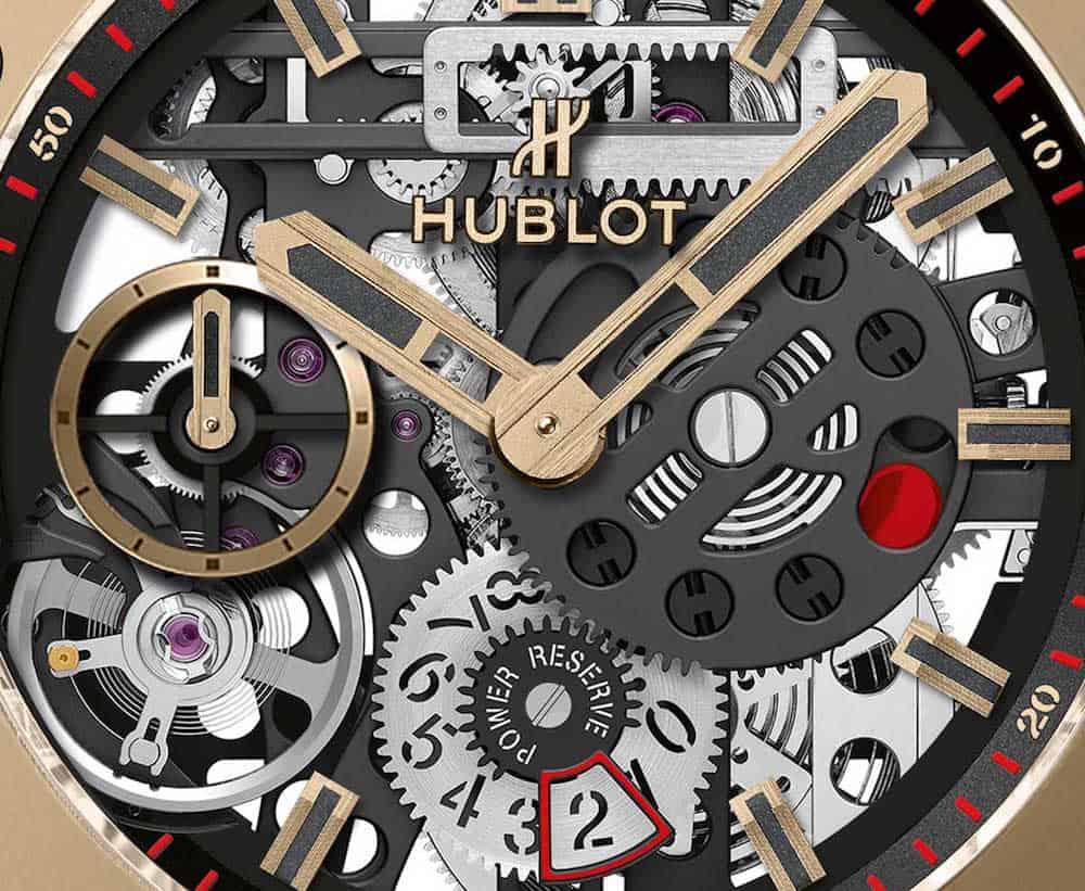 Reloj Big Bang MECA-10 MAGIC GOLD por Hublot