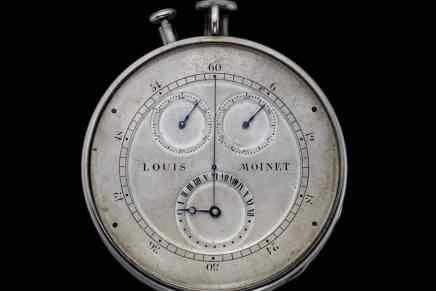 Louis Moinet oficialmente reconocido como el inventor del cronógrafo