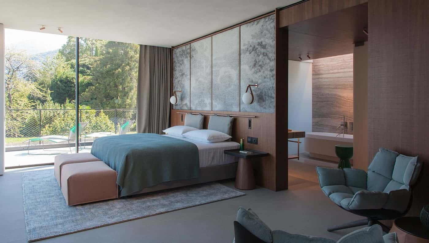 El encantador resort de lujo Il Sereno en Lago de Como es la mejor forma de conocer Milán