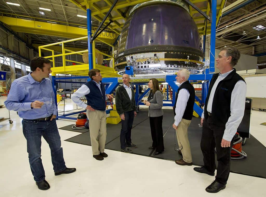 Jeff Bezos, Blue Origin