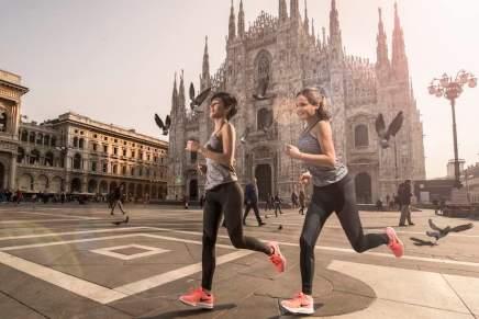 Alójese en el Four Seasons Hotel Milano en Italia y corre alrededor de la ciudad con tu propio entrenador de Nike