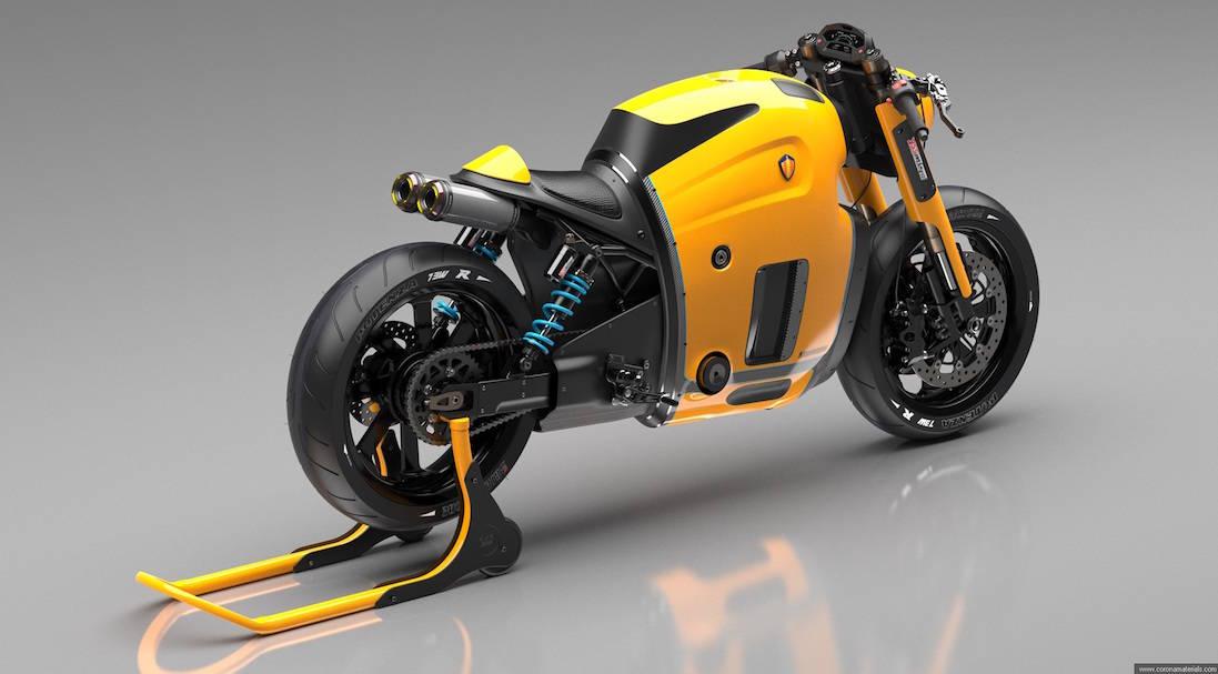 ¿Qué pasaría si Koenigsegg decide hacer una motocicleta? Aquí te presentamos un fenomenal prototipo por Burov Art