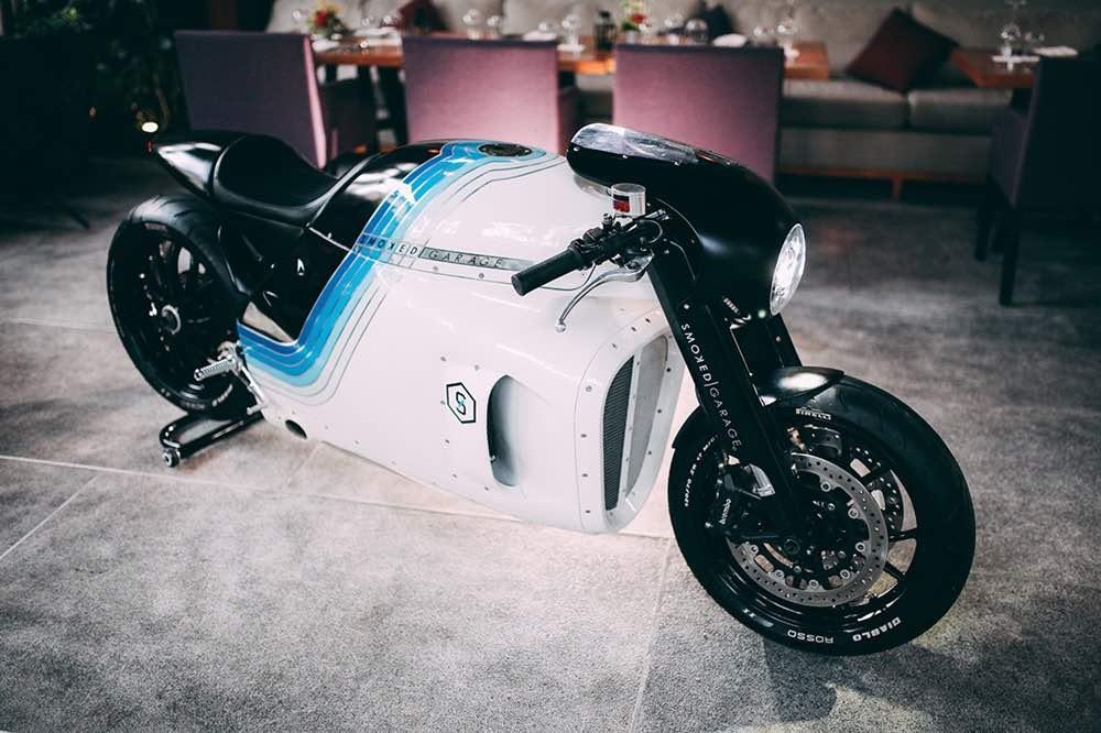 Triumph Ghost: Esta moto personalizada por Smoked Garage te sorprenderá