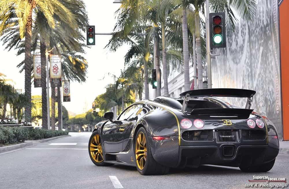 Bugatti Veyron Vincerò D'oro